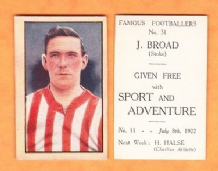 Stoke City Jimmy Broad